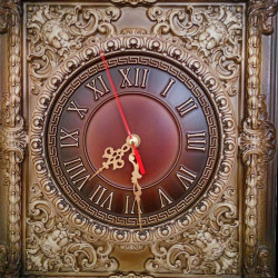 Clock Provence style