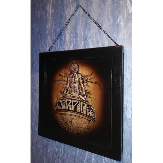 wooden box for vinyl (LP) - Scorpions